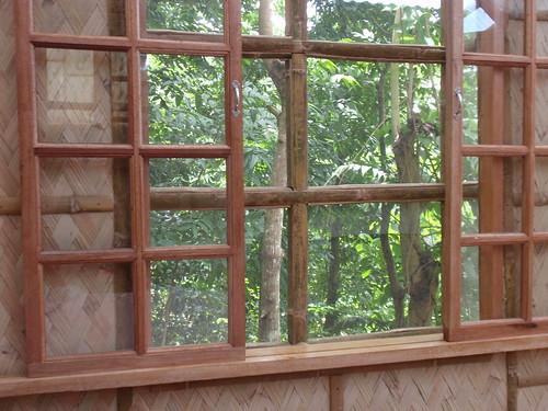 Bahay kubo window