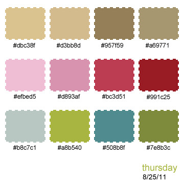 thursday palette