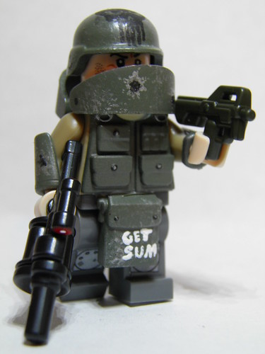 Custom minifig Elite Juggernaut *Updated*