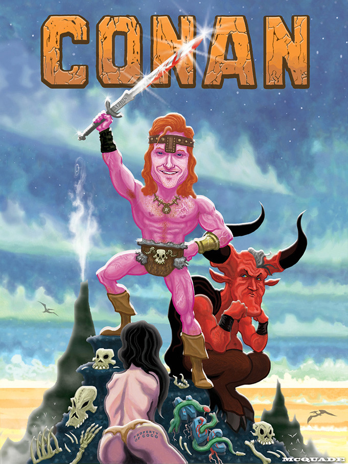 CONAN (O'Brien) the BARBARIAN