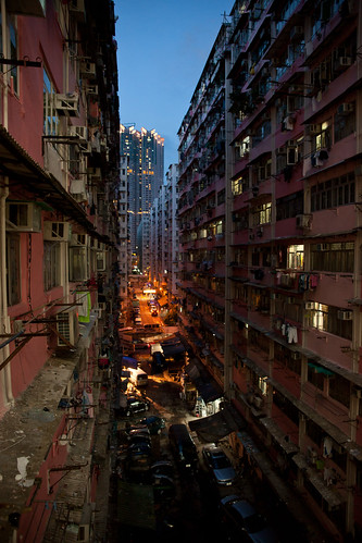 Kowloon Apartments, Hong Kong