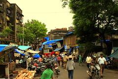 Entrance to a steel market in Kamathipura, Mumbai (jaideep.vaidya) Tags: mumbai kamathipura redlightarea biggestredlightarea