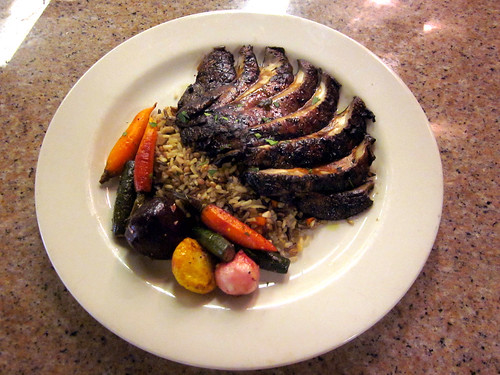 Grilled Portabella Steak