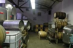Aging Barrels art Stillwater Spirits