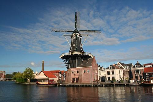 Haarlem windmill - De Adriaan