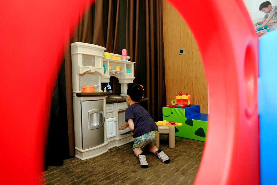 宜蘭親子住宿|蘭城晶英酒店|兒童遊戲區