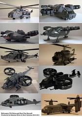 Babalas Rotors 2010-2011 (Babalas Shipyards) Tags: duct fan lego aircraft military attack cargo helicopter vtol moc tiltrotor