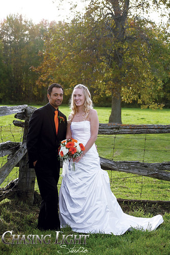 Fall Wedding by Chasing Light Studio ~ Pie's Photography