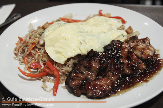Heaven & Eggs Breakfast Chicken Teriyaki Platter