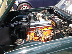 1963 Triumph TR4(2) (cjp02) Tags: show classic car vintage indiana days british motor zionsville fujipix av200 cjp02 1963triumphtr4indy
