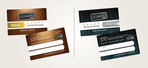 Cartão fidelidade - Celebrare Bar by chambe.com.br