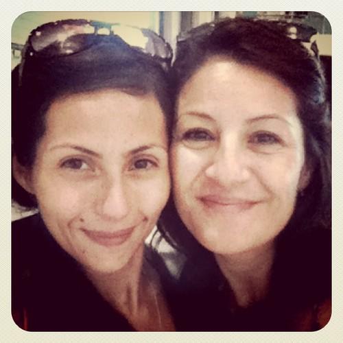 Eu e minha linda mãe 