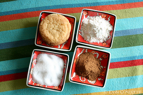 Snickerdoodle Cookies with Main Ingredients
