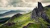 Old Man of Storr (Youronas) Tags: greatbritain mountain skye berg rock landscape island coast scotland hiking hike insel shore fels landschaft hebrides küste schottland oldmanofstorr inseln hebriden