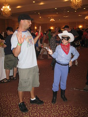 The Lone Ranger - Captures the outlaw Cimino (Reckless Sidekick Productions) Tags: john costume cowboy comic ranger ct hero lone envy con cimino