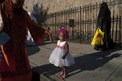 Eid Brooklyn_19.JPG (steffiekeith) Tags: street portrait woman usa holiday newyork color smile brooklyn colorful african muslim islam headscarf eid hijab mosque celebration africanamerican borough hegab