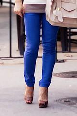 asos cobalt blue skinny jeans