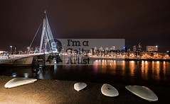 1 2 3 4 5 (DolliaSH) Tags: city longexposure bridge light urban haven holland color water colors architecture night canon reflections river puente photography lights noche photo rotterdam europe foto nightshot photos nacht harbour nederland thenetherlands ponte most le pont brug maas brcke nuit notte stad 1022 noch zuidholland brucke canonefs1022mmf3545usm southholland 50d nachtopname manhattanaandemaas canoneos50d dollia sheombar dolliash