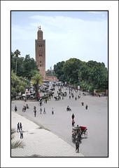 Koutoubia Mosque Minaret, Marrakesh (Joseph Molinari) Tags: africa travel holiday tourism nikon minaret tourist morocco maghreb marrakesh marruecos   d90 redcity  koutoubiamosque   nikkor18105vr murakuc