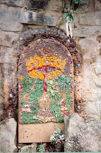 Well dressing at the White Spring