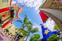 Disney's Hollywood Studios Icon Showdown (Tom.Bricker) Tags: disney fisheye disneyworld hollywood mickeymouse waltdisneyworld disneymgmstudios waltdisney hollywoodstudios disneyphotos disneyshollywoodstudios disneyphotography wdwfigment tombricker disneyfisheye