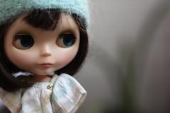 ADAD 116/275, vintage lady (buganville) Tags: hat lines lady vintage dress nine 7 kenner blythe brunette 1972 buganville 2011 adad poohie barbievoltios