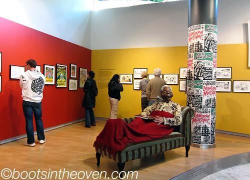 Zapiro exhibit, Jewish Museum