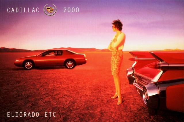 2000 postcard cadillac eldorado etc 1959