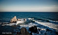 Arrecife de las Sirenas II (jorgeizquierdo.es) Tags: españa beach spain nikon playa paisaje almería cabodegatanijar d7000
