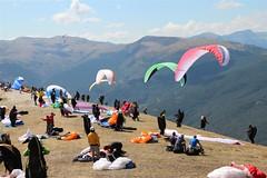 St Andre les Alpes : Pré-européenne de parapente , photos et