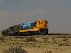 Ferronor, Subramal Mina Los Colorados (DeutzHumslet) Tags: chile train iron desert cargo minerals locomotive freight emd vallenar atacamadesert gr12 ferronor