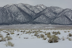 Near Mammoth Lakes (Dave_Lawrence) Tags: winter snow whitemountains mammoth owensriver