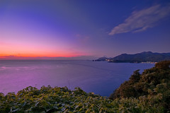 Dusk of Rainbow (-TommyTsutsui- [nextBlessing]) Tags: longexposure blue light sunset red sea sky seascape nature japan landscape coast nikon fuji purple dusk magic tide scenic shore     hdr izu  ndfilter   sigma1020  onsalegettyimages