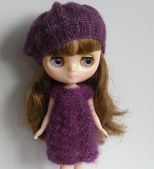Fluffy Dress and Hat