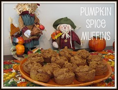 PUMPKIN SPICE MUFFIN BUTTON