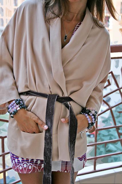 кимоно блэйзер