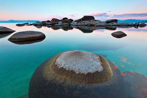 Round Rock, Sand Harbor, Lake Tahoe