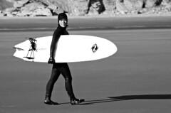 6068.2 Surf Woman B&W (eyepiphany) Tags: oregon surf surfing wetsuit blackwhitephotography oregonbeaches summerlife oregonsurfing oregontourism womansurfer manzanitta smuglerscove tappingthesource bestplacestosurf bestplacestosurfinoregon oregonbeachtowns manzanittaoregon