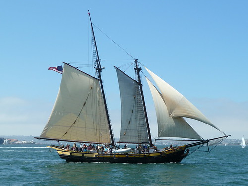 sandiego tallship woodenship festivalofsail spiritofdanapoint gafftopsailschooner