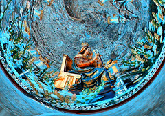 Virgen de la Victoria (Patrona de la Ciudad de Melilla) (Jocarlo) Tags: art photowalk monumentos melilla melillalavieja montajesfotográficos photowalkmelilla pwmelilla jocarlo