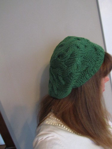 Slouchy Green Beret