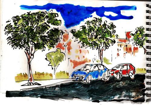 Los árboles de mi calle. Madrid
