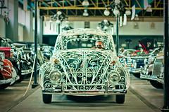 Volkswagen Beetle / Sedn de alambrn (hmbautista) Tags: world cup mxico vw volkswagen de beetle uno museo 1970 mundial futbol siete automvil vocho sedn alambrn