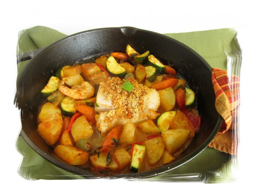 how to make fish stew with potatoes