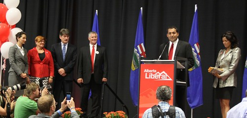 MLA Raj Sherman's victory speech at Alberta Liberal leadership event September 10, 2011.