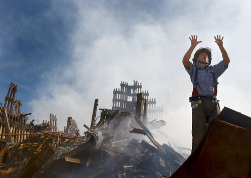 9/11 fire fighter picture