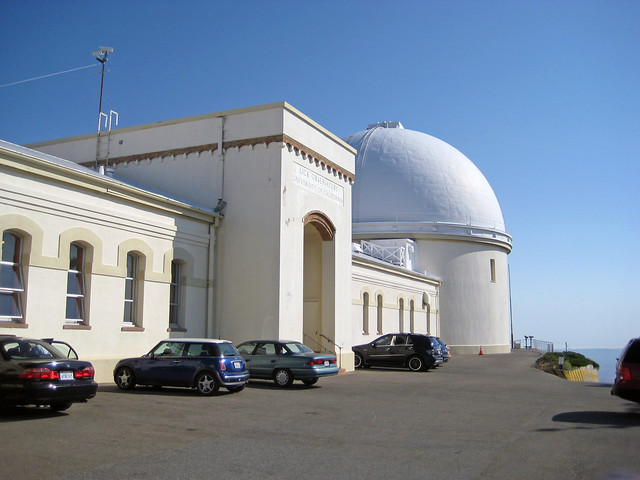 Lick Observatory in the afternoon
