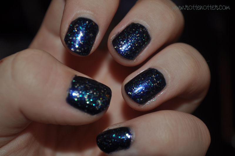 barry m navy nail polish opi last friday night notd layered 04