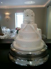Awesome Cakes UK - Wedding Cake (Awesome Cakes UK) Tags: weddingcakes noveltycakes sugarmodelling photocakes awesomecakesuk