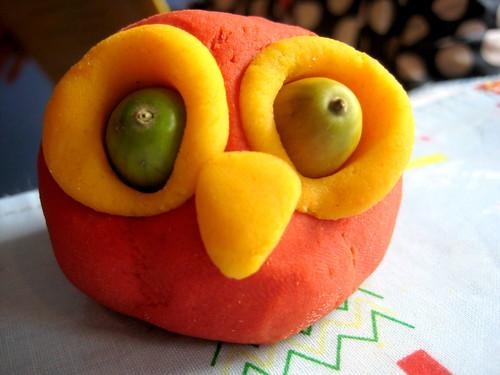 easy no cook playdough autumn crafts